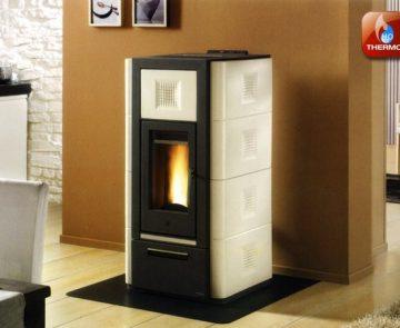 Estufa a pellets para aquecimento central Piazzetta Refª P965 Thermo