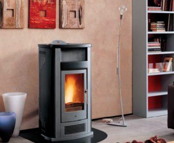 Estufa a pellets para aquecimento central Piazzetta Refª P960 Thermo