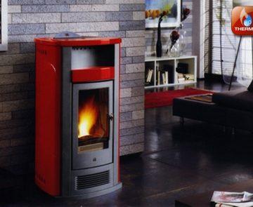 Estufa a pellets para aquecimento central Piazzetta Refª P960 Thermo II